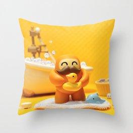 Macho! Throw Pillow