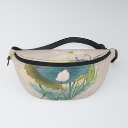 lotursflowers C : Minhwa-Korean traditional/folk art Fanny Pack