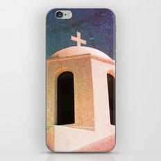 Greek Building Burnt iPhone & iPod Skin
