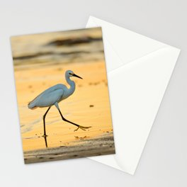 Walking on Gold Stationery Cards