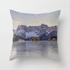 The Thin Ice Throw Pillow