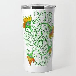 """Sunflowers"" Travel Mug"