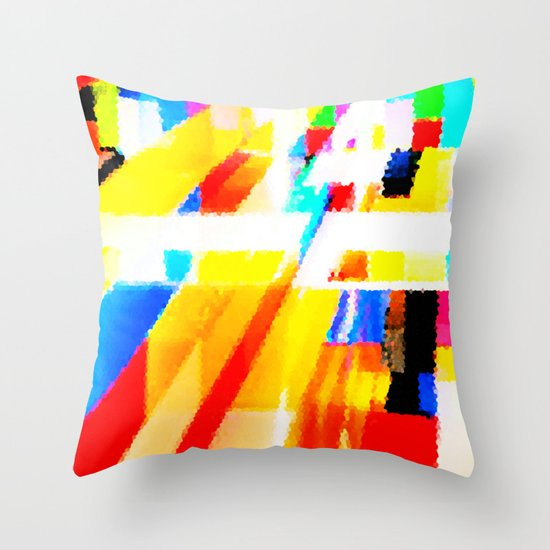 Meta Throw Pillow