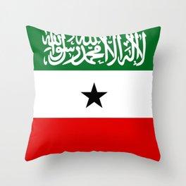 Somaliland Flag Throw Pillow