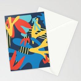 Geometry color pop #illustration Art Print Stationery Cards