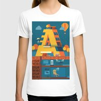 building T-shirts featuring A Building by Orkha