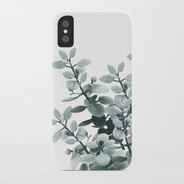 Eucalyptus Leaves Green Vibes #1 #foliage #decor #art #society6 iPhone Case