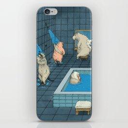 The Bathers iPhone Skin