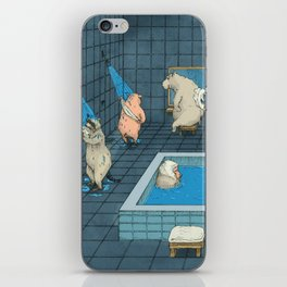 The Bathers iPhone Skin