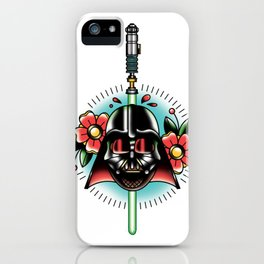 Vader Tattoo Flash iPhone Case
