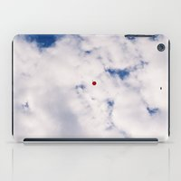 baloon iPad Cases featuring Fly Red Baloon Fly by Julie Camino Photography