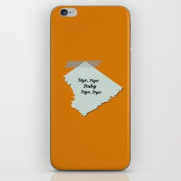 Bye Bye Baby iPhone Skin