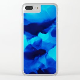 The blues Clear iPhone Case