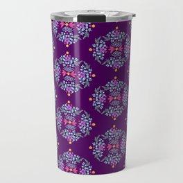 Royal Gardens (purple) Travel Mug