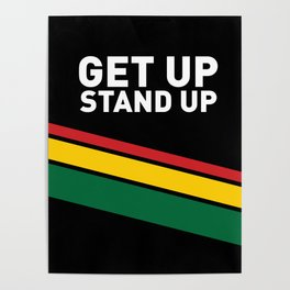 Get Up Stand Up / Rasta Vibrations Poster