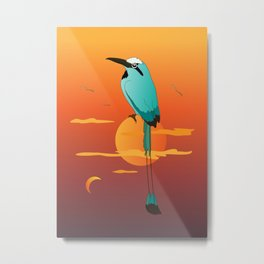 Oklahoma Bird Metal Print