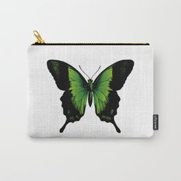 Green Butterfly | Vintage Butterfly | Green and Black | Carry-All Pouch