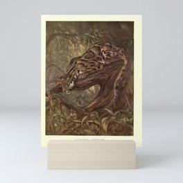 Finn - The Wild Beasts of the World (1909) - Vol 1 Plate 20 Clouded Leopard Mini Art Print