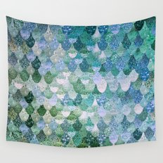 REALLY MERMAID OCEAN LOVE Wall Tapestry