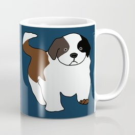 St Bernard puppy Coffee Mug