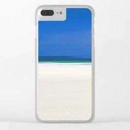 Luskentyre Beach Clear iPhone Case