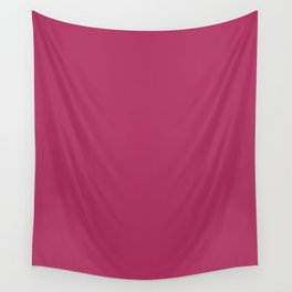 Rich maroon - solid color Wall Tapestry