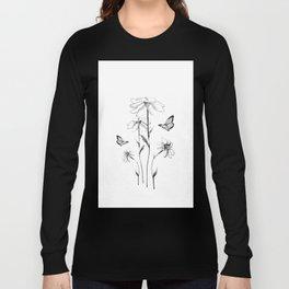 Flowers and butterflies 2 Long Sleeve T-shirt