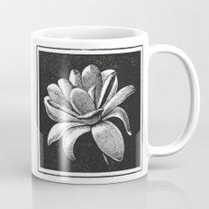 White flower Mug