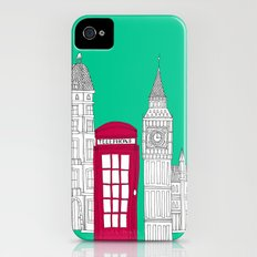 Capital Icons // London Red Telephone Box Slim Case iPhone (4, 4s)
