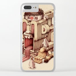 Kamikazee Clear iPhone Case