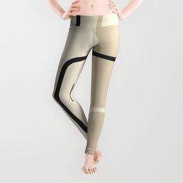 Abstract Line Leggings