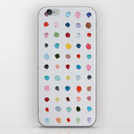 Infinite Polka Daubs iPhone Skin