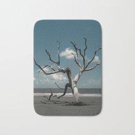 Tree on Shore of the Boneyard at Bull Island Bath Mat