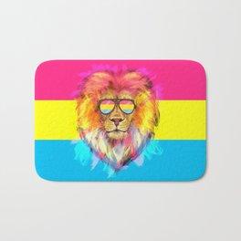 The Pan Lion Pride Bath Mat