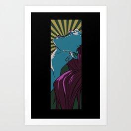 Siren's Scream Art Print
