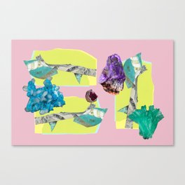 SEMI PRECIOUS Canvas Print