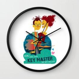 Key Master Wall Clock