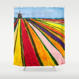 The Colors of Amsterdam Shower Curtain