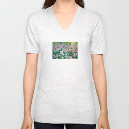 Spring Tulips - The Flower Collection Unisex V-Neck