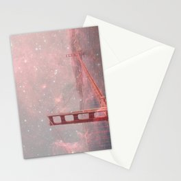 Stardust Covering San Francisco Stationery Cards