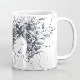 Winter Poppy Fairy Coffee Mug