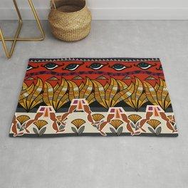 Walking Egyptian Pattern Rug
