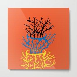 matisse coral Metal Print