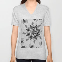 Geometry_shape_lines_angles_form09 Unisex V-Neck