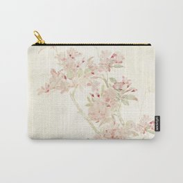 Watercolour of pink blossom Carry-All Pouch