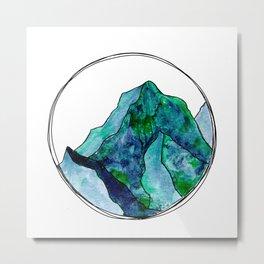 Turquoise Mountain Dreams Metal Print