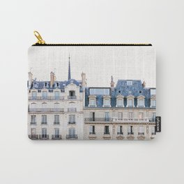 Tres Paris - Travel, Architecture Photography Carry-All Pouch