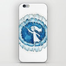 Frozen Girl Plays Yo-Yo iPhone & iPod Skin