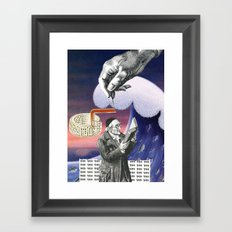 Never Let Anyone Tell You Otherwise Framed Art Print
