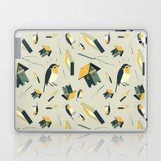 Flying Birdhouse (Pattern) Laptop & iPad Skin